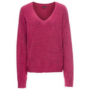 Bő kötött pulóver bonprix