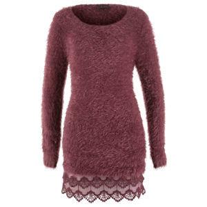 Csipkés pulóver bonprix