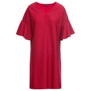 Fényes dzsörzé ruha bonprix
