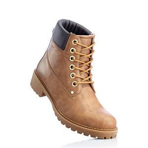 Fűzős magas szárú cipő bonprix