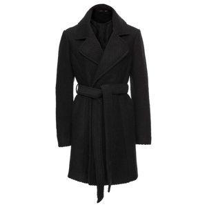 Gyapjú kabát hajtókás gallérral bonprix