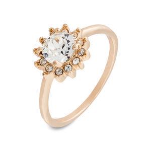 Gyűrű Swarovski® kristállyal bonprix