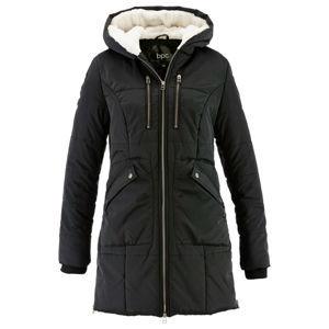 Kabát bélelt kapucnival bonprix