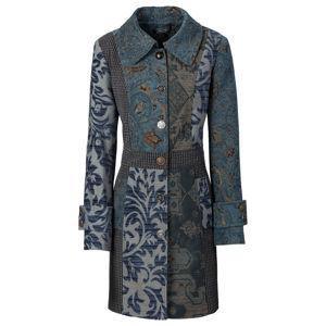 Kabát igényesen kidolgozott Jacquard mintázattal bonprix