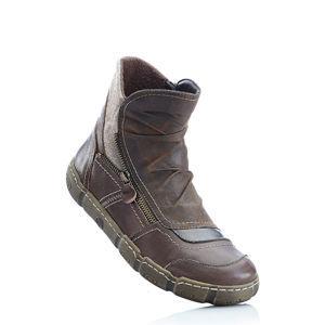 Kényelmes bőrcipő bonprix