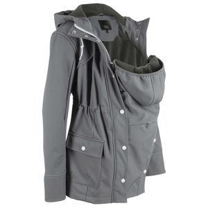 Kismama Softshell kabát babavédő-betéttel bonprix