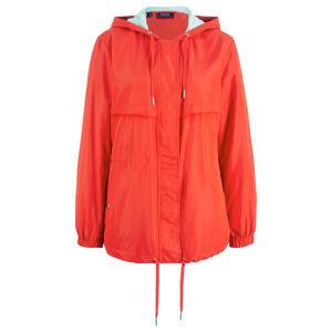Könnyed kapucnis kabát dzsörzé béléssel bonprix