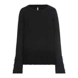 Kötött pulóver divatos gombokkal: MUST HAVE bonprix