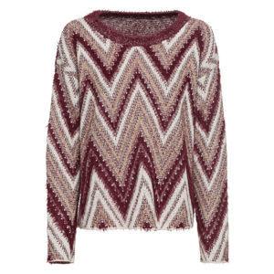 Kötött pulóver fényes szálakkal bonprix
