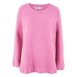 Maite Kelly - Kötött pulóver külső varrásvonalakkal bonprix