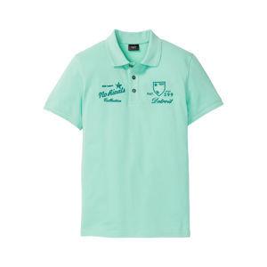 Pólóing szín-a-színben mintával bonprix
