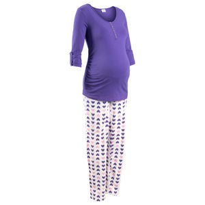 Szoptatós pizsama (2-részes szett) bonprix