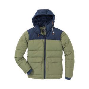 Téli steppelt kabát kapucnival Regular Fit bonprix